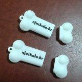 Movimentação do flash do USB da forma da roupa do PVC, projeto do OEM