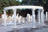 Gazebo de piedra de la escultura del Gazebo