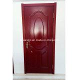 優雅な切り分けられた固体木の内部ドア