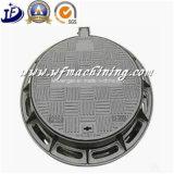 도로 수송을%s En124 D400 무쇠 맨홀 뚜껑