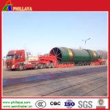 4+6 (beschikbare 5+5) Modulaire Aanhangwagen het Vervoer van de Balk van 250 Ton/de Aanhangwagen van de Balk