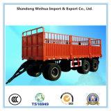화물 수송기를 위한 Fuwa 3개의 차축을%s 가진 가득 차있는 트레일러 50 톤 견인봉