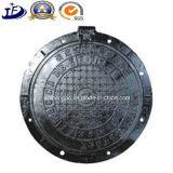 Câmara de visita circular chinesa do fornecedor Qt500-7 da fundição nas tampas de câmara de visita Ductile do ferro
