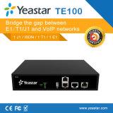 Passagem portuária da passagem E1/T1/J1 VoIP do Pri Isdn VoIP (NeoGate TE100)