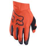 Guanti arancioni del motociclo dei guanti MTB di Fox del lepidottero di linea aerea (MAG118)