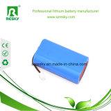 batteria di litio 2000mAh di 2s1p 7.4V 18650 per la macchina fotografica del CCTV