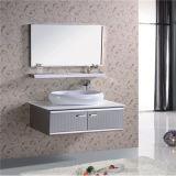 Оптовый шкаф тщеты ванной комнаты нержавеющей стали с зеркалом