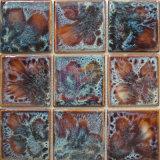 Mosaico de cerámica hecho a mano esmaltado de Fambe (CST255)