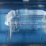 Contenitori impaccanti di copertura superiore del contenitore della frutta di plastica a perdere pura