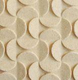 ベージュ黄色い砂岩床タイル