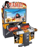 Galleria Game Simulator Shooting Gun Machine per Rambo