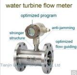 Debietmeter van uitstekende kwaliteit van de Turbine van het Vloeibare Gas de Intelligente Geïntegreerdee