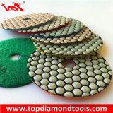 Diamante tampones para pulir flexibles para el pulido y rectificado piedra