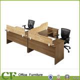 Рабочие станции офиса полного стенда офиса MFC 4 Seater самомоднейшие
