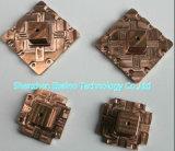 O bronze fazendo à máquina do CNC parte as peças de cobre