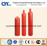 Steel sem emenda Fire Fighting Carbon Dioxide Gas Cylinder com Different Capacities