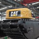 Undercarriage Pontoon를 가진 고양이 또는 Catpilllar Hydraulic Excavator
