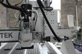Porta de madeira que faz o CNC Multifunctional que cinzela a máquina