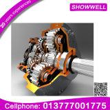 Pinhão personalizado com o CNC que faz à máquina o tipo giratório engrenagem cónica em China planetária/engrenagem da transmissão/acionador de partida