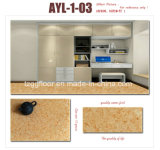 실내를 위한 고품질 방수 PVC에 의하여 박판으로 만들어지는 마루