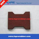 H-Type non toxique de Crabot-Os de face rouge brique/tuile en caoutchouc