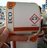 Etichetta di avvertimento chimica di rischio di obbligazione di Customozed