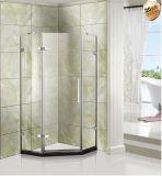 Pièce jointe américaine de compartiments de douche en verre Tempered de Frameless de type