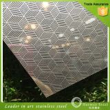 Acier inoxydable de texture de la Chine Wholesaleembossed pour le revêtement de mur extérieur