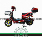Frente LED Light Steel Frame Electric Motorcycle