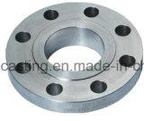 Фланец CNC отливки точности подвергая механической обработке стальной