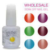 Gel UV d'art d'ongle de polonais de gel de Domcco Gelish