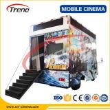 Matériel mobile de théâtre du cinéma 7D de vente de meilleur camion chaud des prix