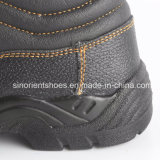 Zapatos de seguridad de cuero industriales con el certificado RS8103 del Ce