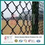 загородка звена цепи PVC дешевого цены 50X50 mm Coated для сада или стадиона