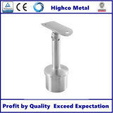 Adjustable tube support for Glass Railing balustrade and Handrail