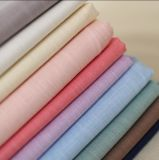 linho 95%Cotton+5%Spandex como a tela elástica Slubbed tela do enrugamento da arruela