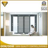Foshan-Aluminiumschiebendes Fenster-Glasfertigung mit Blendenverschluß (JBD-S3)