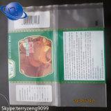 色刷の冷凍食品袋