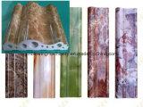 Linha de pedra de mármore artificial da máquina da produção da placa do PVC