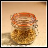 台所用品のガラス記憶の瓶/ガラス玉の瓶