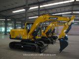 Máquina escavadora da esteira rolante da máquina escavadora Bd90 de Baoding com a cubeta Yellow/0.5m3