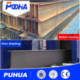Línea sequedad del tratamiento previo de la máquina de la estructura de acero pesada de Industty y del chorreo con granalla del perfil de la pintura