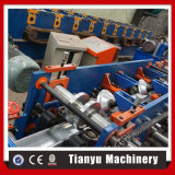 Correas automáticas de la azotea de la estructura de acero que ruedan formando la máquina