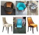 Mobília do hotel 1+1+3 jogos confortáveis do sofá da mobília de couro da sala de espera