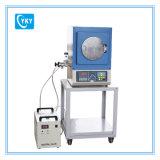 Kompakter Vakuumtiegelofen mit Wasserkühlung-Flansch Cy-1200X-H8