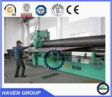 W11s-25X2500 machine à cintrer de l'universel trois de rouleaux de feuille de roulis hydraulique de plaque