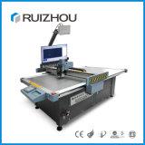 Máquina de couro de oscilação ondulada do cortador do CNC do plotador da faca de Digitas