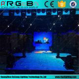 Estágio profissional novo que ilumina a tela de indicador portátil Dance Floor do diodo emissor de luz P6.25