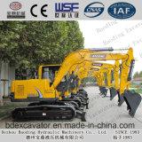 Máquinas escavadoras hidráulicas da esteira rolante de Baoding com a cubeta 0.5m3