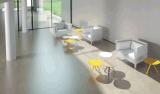 Uispair 100% Koffietafel van de Eetkamer van de Slaapkamer van de Woonkamer van het Bureau van het Hotel van het Huis van het Staal Moderne
